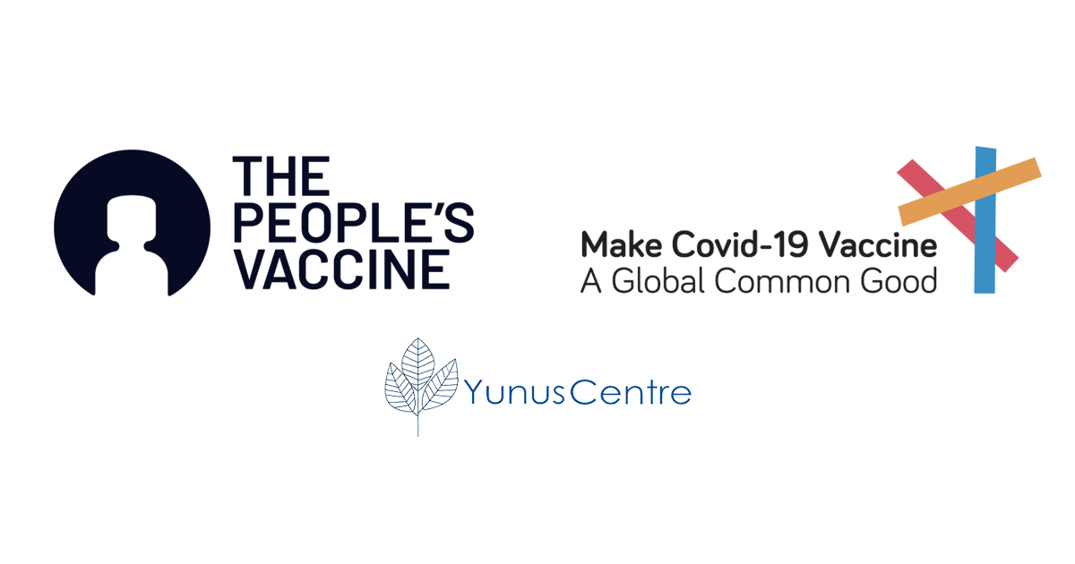FORMER HEADS OF STATE AND NOBEL LAUREATES CALL ON PRESIDENT BIDEN TO WAIVE INTELLECTUAL PROPERTY RULES FOR COVID VACCINES