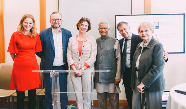 Yunus launches marketplace platform to offset carbon emissions in Partnership with largest French Bank BNP Paribas