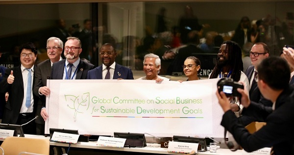 Innovate Together to Achieve SDGs & Climate Actions Through Social Business
