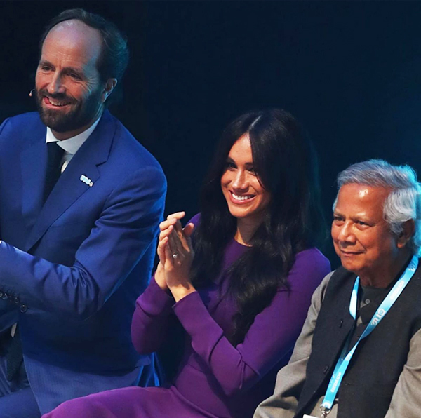 Tenth One Young World Summit Held in London - Yunus Urged Youth to Reversing the Environmental Degradation and Wealth Concentration